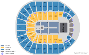 Verizon Arena Pbr Seating Chart Section Verizon Center Chart Images Online