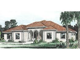 burdella stucco home plan house plans more