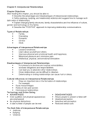 Interpersonal Relationships Summary Notes Chapter 9 Interpersonal Relationships Studocu