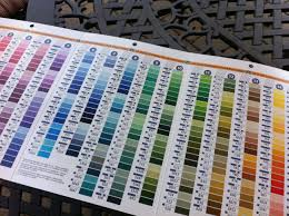 Buyer Beware Dmc Needlework Threads Color Card Mark