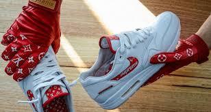 louis vuitton vans. supreme x louis vuitton collection inspires air max 1 custom   nice kicks vans s