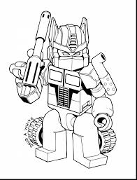 Small Picture unbelievable lego coloring page transformer optimus prime with