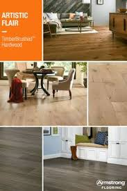 armstrong flooring s timberbrushed hardwood is textured by gently removing the soft portion of the wood