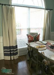 diy painted drop cloth curtains theturquoisehome com