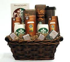 for the coffee enthusiast a starbucks gift basket starbucks gift baskets
