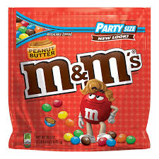 m m s peanut er chocolate candy party size 38 ounce bag