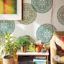 decorative mandala designs wall art stencils for painting royal design studio  on wall art stencils for painting with large mandala medallion stencils for painting diy wall art designs