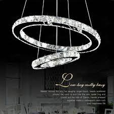 led crystal ring chandelier ae regarding popular home crystal ring chandelier plan