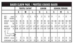 Bauer Vapor Size Chart Particular Bauer Clothing Size Chart Youth Pant Size Chart