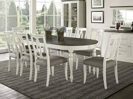 Amazoncom Everhome Designs Vegas 9 Piece Oval Extension Dining