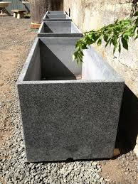 large planter boxes for sale. British Two Pairs Of Large Contemporary Granite Planters For Sale On Planter Boxes