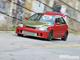1996 Honda Civic DX  Big Red Photo U0026 Image GalleryBackyard Special Bumper