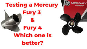 Mercruiser Prop Selection Chart Testing A Few Mercury Props Today The Fury 4 Blade And Fury 3 Blade Watch The Results Coming Up
