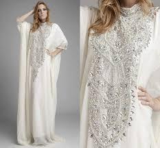 Discount Dubai Kaftan Pakistan Abaya High Neck Wedding Dresses