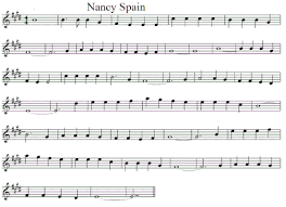 Spain Chord Chart Nancy Spain Lyrics Chords And Sheet Music Irish Folk Songs