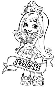 Shoppies Coloring Pages Shopkins Coloring Pages Shopkins Unique