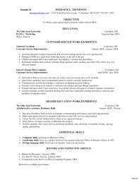 Example Resume Waitress Sample Server Resume Templates Information Skills Template For 22