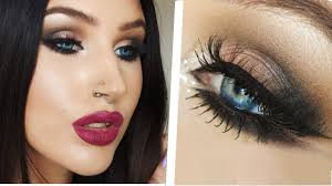arab inspired double winged eyeliner smokey eye makeup tutorial you