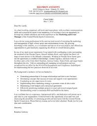 Sports Management Cover Letters Cover Letter By Brandon Anthony Issuu