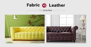 leather vs fabric couch potato s pick