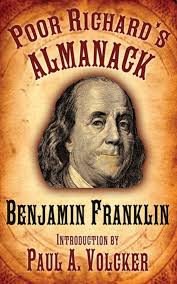 Image result for Benjamin Franklin publishes the first edition of Poor Richard's Almanack .