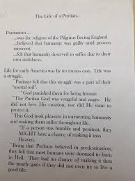 th grade mrs jaeggi s place puritan notes of plymouth plantation