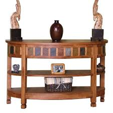 designs sedona table top base: sunny designs sedona curved entry tv console