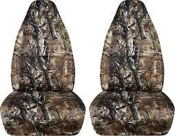 Camouflage Car Seat Covers: Woods Camo - Semi ... - Amazon.com