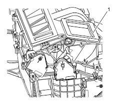 2004 gmc yukon blend door actuator 3
