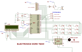 very best electronic door lock system circuit diagram 55 about that electric door locks electronic door lock system circuit diagram jpg microcontroller circuit diagram € the wiring diagram 4850 x 3079