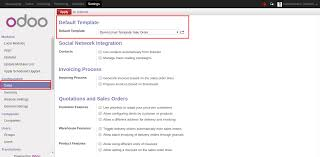 default email template apps define email template of orders