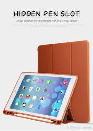 2019 case for ipad pro 10 5 smart cover pu leather magnetic foldable tablet cases cover with pencil pen slot stand for apple ipad pro 10 5 inch from moonhu