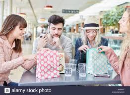 Take shopping break teen