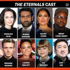 The marvel cinematic universe is about to get rocked when eternals debuts in theaters. Rotten Tomatoes The Official Cast Of Marvel S Eternals Facebook