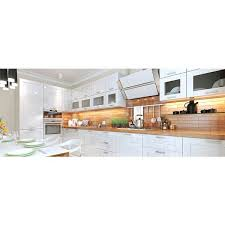 trulux standard grade led tape light installed as under cabinet accent lighting in this kitchen