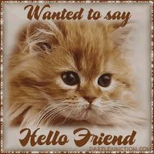 Image result for hello friend pix