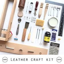 leather craft kit pro set leather tools set leather kit set