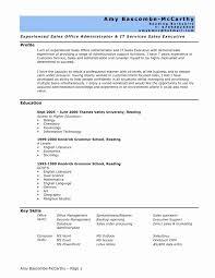 Entry Level Sales Resume Best Of Ehs Resume Sample Fresh Entry Level