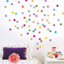 shanghai polka dot wall stickers