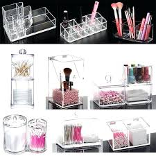 new acrylic 4 drawer jewelry cosmetic organizer chest storage cube gift present target
