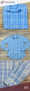 Bugatchi Shaped Fit Long Sleeve Button Down Shirt In Euc No
