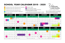 Printable School Year Calendars School Year Calendar Trillium Lakelands District School Board