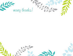 Business Thank You Card Template Thank You Notes Templates Free Printable Baby Thank You Card 18