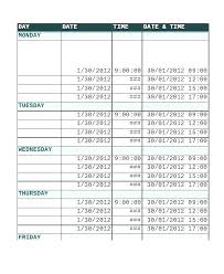 Schedule Maker For College Online Daily Schedule Maker Military Co Routine School Template