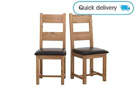 Image Side Chair California Pair Of Wood Ladderback Dining Chairs In On Furniture Village Furniture Village California Pair Of Wood Ladderback Chairs Furniture Village