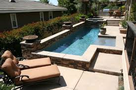 Built In Pools For Small Yards