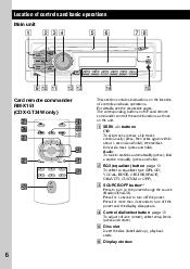 instalation wiring diagram for sony cdx gt34w sony cdx gt24w support and basic operations qa qs qd qf qg card remote commander rm x151 cdx gt34w only qh qj qk off att source sel mode wa ws q skip tracks cruise space