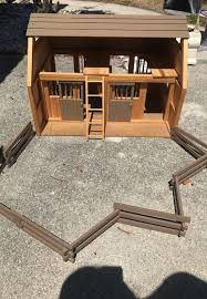 toy wooden horse barn kits designs