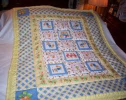 30 best baby quilts images on Pinterest   Quilt baby, Toddler ... & Handmade Beatrix Potter and Peter Rabbit Baby/Toddler Quilt-Newly Made in  2013 Adamdwight.com