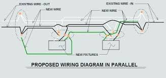 how to wire two light switches together wiring two fluorescent lights in parallel wire center co how to wire two light switches together